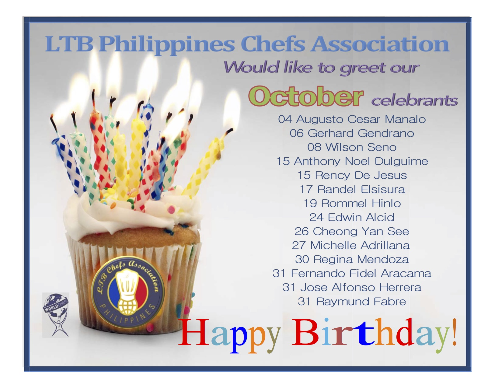 October Birthday Ecards ~ Ltb philippines october birthday greetings chefs phils